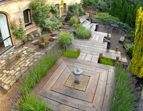 Garden Landscape Design Delhi : Water features fencing decking larving garden design landscape